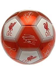 Liverpool Unisex's Official Signature Ball-Multi-Colour, Size 5