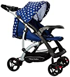 Tiffy & Toffee Baby Delight Premium Stroller Pram (Royal Blue)