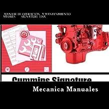 Manual de Operacion y Mantenimiento: Motores Signature eISX.