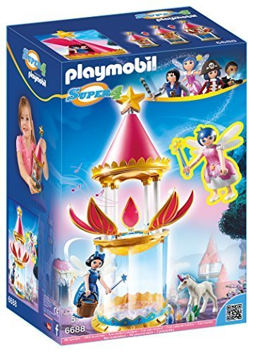 Playmobil - Torre Flor mágica Caja Musical Twinkle