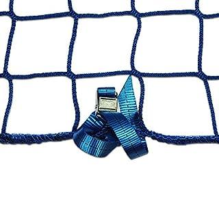 Seitenschutznetz Dachdeckerfangnetz mit angenähten GSV (2 x 10m, blau)