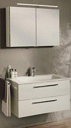 Spiegelschrank Burgbad Set mit Waschtisch und Unterschrank - 61 cm