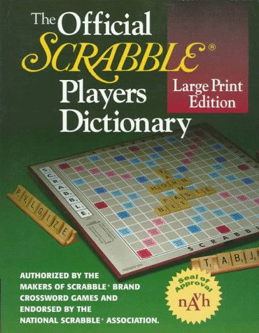 The Official Scrabble Players Dictionary (Websters Wörterbuch Großdruck)