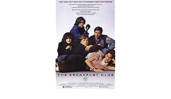 Patrick Tillberry The Breakfast Club Score Art Print Poster/_32 x 43 inches 81 x 109 cm