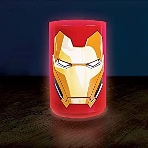 Officielle Marvel Avengers Mini Iron Man Light - Marvel Superhero Lamp