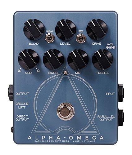 Darkglass Alpha Omega · Pedal bajo eléctrico