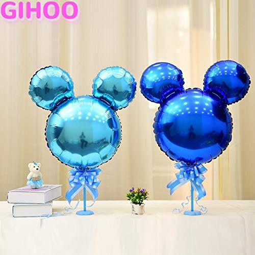 Uniqus 10 Stück/niedliche Mini-Micky Maus Luftballon Cartoon Kopf aufblasbar Helium Ballon Motto Geburtstag Party Supplies Kinder Spielzeug
