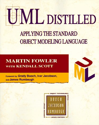 UML Distilled: Applying the Standard Object Modelling Language (Addison-Wesley Object Technology Series) (Standard-serie Martin)