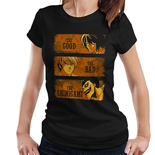 Death Note The Good The Bad And The Shinigami Women's T-Shirt (Weihnachten T-shirt Womens Light)