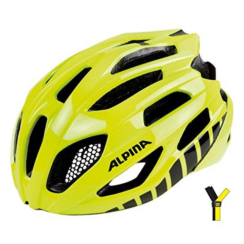 fahrradhelm neon gelb ALPINA Erwachsene Fedaia Fahrradhelm, be Visible, 58-63