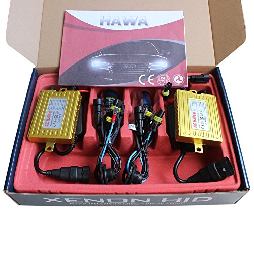 Generic H7R Canbus Kit di conversione HID 8000K 35W AC senza errori lampadina con base in metallo