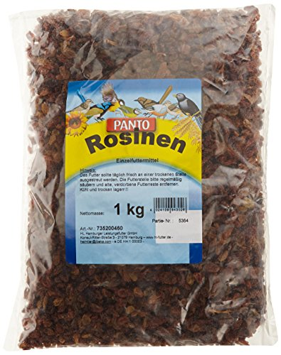 Panto Rosinen für Wildvögel 1kg, 2er Pack (2 x 1 kg)
