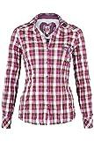 Spieth & Wensky Damen Bluse Crash-Optik kariert pink, pink, 50