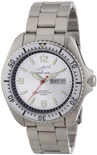 Chris Benz Men's Quartz Watch CBO.SI.MB.SI with Metal Strap