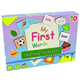 Boys Girls Toddlers Infants Baby Children Kids - Early Learning My First Words Flashcards Box Set - Top Reviewed Educational - Easter Alternative Gift Present Early Learning Games & Toys Idea Age 12m+ Pre School Learning Set