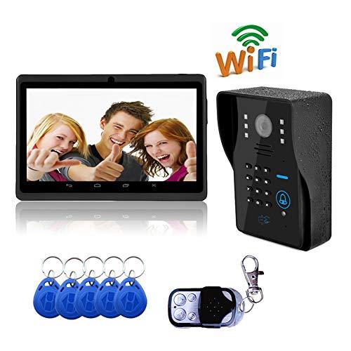 Immagine di Campanello Video Wifi Casa Wireless Smart Telecamere A Induzione Intelligenti/Monitoraggio / Chiamata/Monitoraggio Del Corpo Umano/Supporta La Registrazione Video(Più Modi Per Sbloccare)