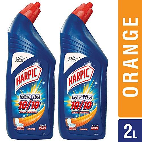 Harpic Powerplus Orange - 1000 ml (Pack of 2)