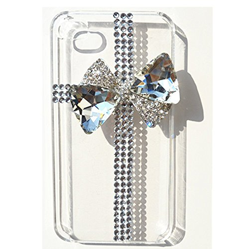 EVTECH (TM) Coque 3D Bling Strass Case Transparent Back Cover Cristal Etui Housse Hard Coque pour iPhone 6 Plus 5.5\\