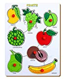 #10: The Kiddy Depot Wooden – Knobbed Puzzle Fruits