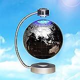 Magnetschwebetechnik, Schwebende Kugel-Weltkarte der elektronischen magnetischen Levitation mit LED beleuchtet Geschenk-Ausgangsdekoration , B