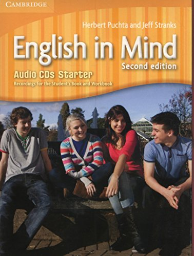 English in Mind Starter Level Audio CDs (3) - 9780521127493