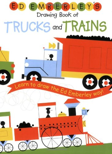 Ed Emberley Drawing Book Trucks and Trains /Anglais