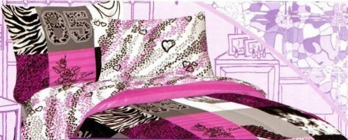 Disney CeCe & Rocky Shake It Up 4-Piece Full Sheet Set