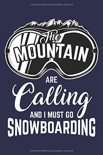Snowboard Notizbuch: Ein perfektes Notizbuch für alle Snowboarder