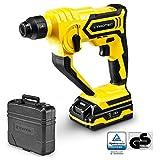 TROTEC Bohrhammer PRDS 10-20V mit Schnell-Ladegerät 1h, 1 Joule Bohrleistung