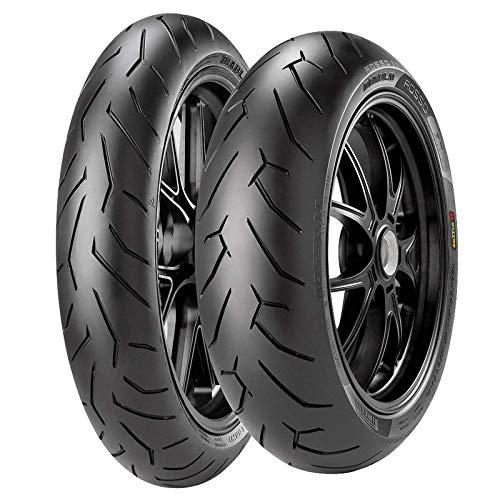 Coppia gomme pneumatici pirelli diablo rosso 2 120/70 zr 17 58w 160/60 zr 17 69w