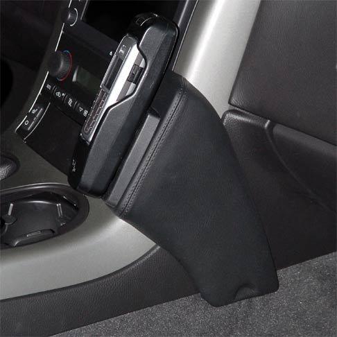 KUDA Telefonconsole adatto per Chevrolet Corvette C6AB 12/04anche Z06in vera pelle NERO