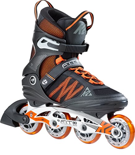 K2 Herren Inline Skate F.I.T. 80 Alu M, mehrfarbig, 11, 30B0011.1.1.110