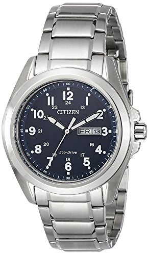 Citizen Analog Blue Dial Unisex Watch - AW0050-58L