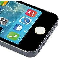 Oyedens 2pcs in alluminio tasto Home Tastiera Tastiera Sticker per iPhone, iPad, iPod