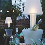 ELHO Pure Twilight Blumentopf mit LED Lampe - 3