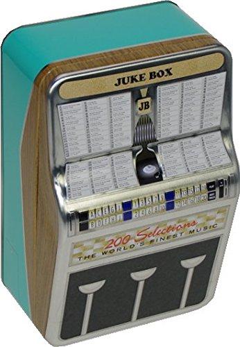 im Retro Design, Aufbewahrungsbox, Vorratsbox, Deko, Dekoration, Geschenkebox, Bevorratung von Lebensmitteln, Geschenkartikel, Present, Zugabeartikel zum Befüllen (1 Stück) (Retro-design-dekoration)