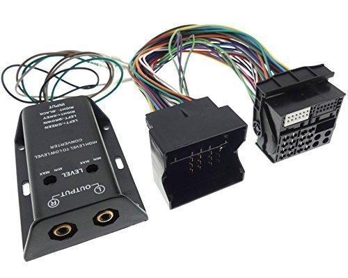 Verstärker Adapter 2-Kanal HIGH-LOW VW OPEL BMW SEAT SKODA FORD Endstufe Cinch 01 Ford Focus Antenne