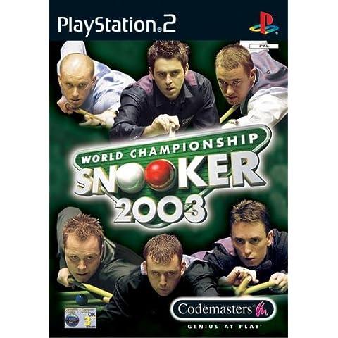 World Championship Snooker 2003 [ Ps2 - Edizione: Ita/Esp ]