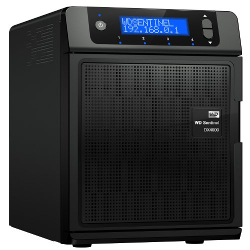 WD Sentinel DX4000 NAS-System mit Festplatte 8TB (Gigabit Ethernet, USB 3.0, WD...