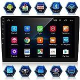 ANKEWAY Android 9.1 Car Radio GPS Navigation 10,1 Pollici 1080P HD Touch Screen Autoradio Bluetooth/WiFi Car Stereo 2 DIN 1G/16G Car Multimedia Radio+WiFi/BT Tethering Internet+Rear View Fotocamera