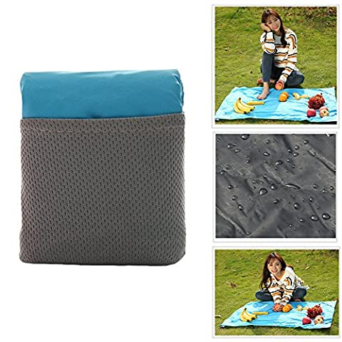 OurKosmos Mini Pocket Blanket,Ultra-compact and lightweight Camping Blanket, Multifunction Foldable