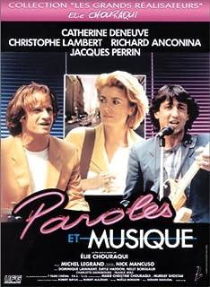 Paroles et musique by Catherine Deneuve