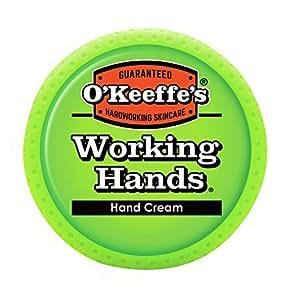 Okeefes working hands
