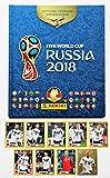 Panini WM 2018 Russland - Leeralbum Hardcover + Set alle 9 Sticker M1 - M9 McDonalds