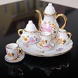Casa Delle Bambole In Miniatura Mobili giocattoli accessori cineserie Mini piattino per tazza da tè, set per casa delle bambole 1: 6 - GDRAVEN - amazon.it