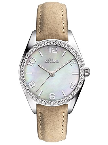 s.Oliver Time Damen-Armbanduhr SO-LQ