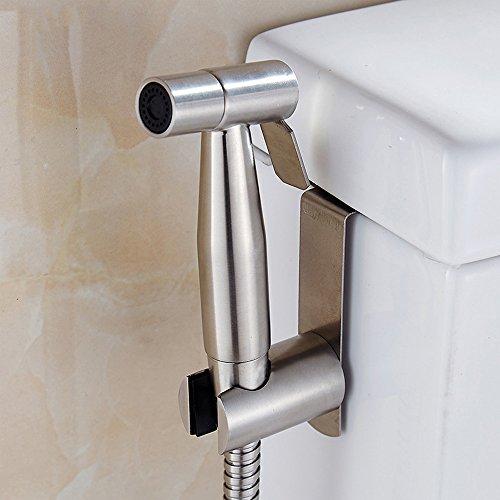 Vejaoo Edelstahl Spritze Shattaf, Hand gehalten Bidet Sprayer Dusche Set für WC