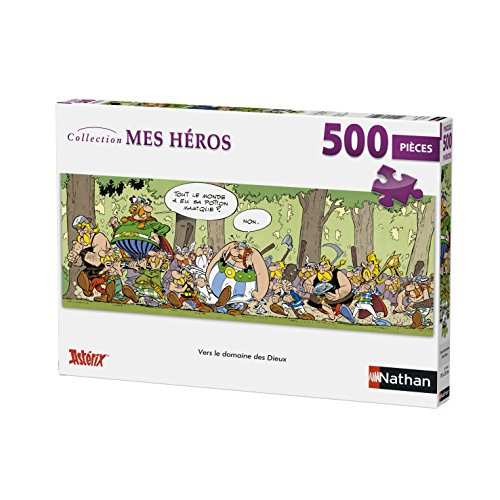 Nathan Puzzle Vers le Domaine Des Dieux Astérix 500Piezas, 87206