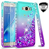 LeY Galaxy J5 2016 Case with Tempered Glass Screen
