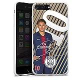 DeinDesign Coque en Silicone Compatible avec Apple iPhone 8 Plus Étui Silicone Coque Souple Paris Saint-Germain Neymar PSG